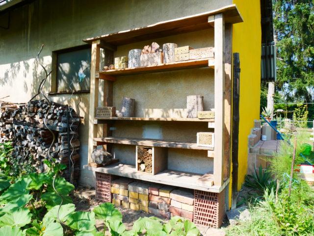 Oliver Franke Naturgärten - Insektennisthilfe 4
