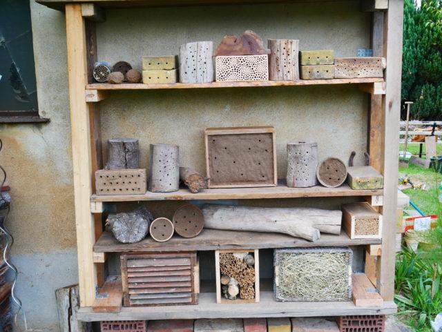 Oliver Franke Naturgärten - Insektennisthilfe 8